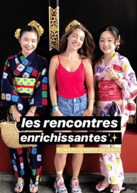 romane grandin voyageur découvrir japon
