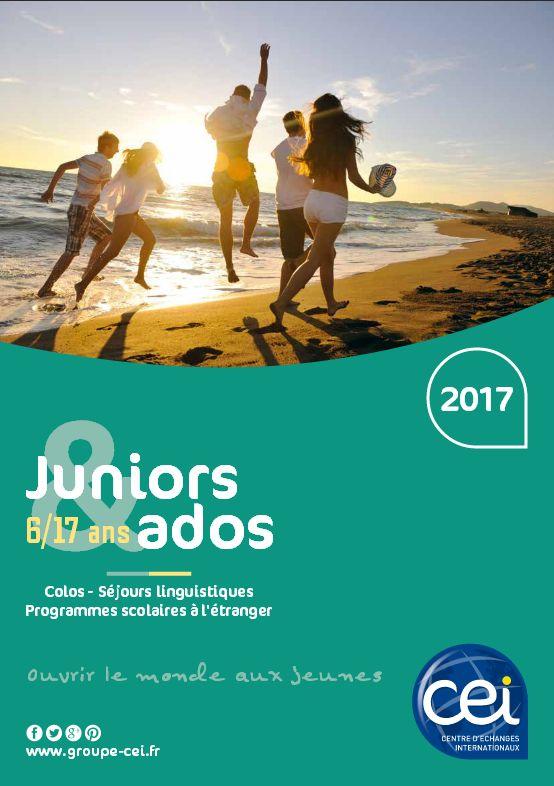 Brochure voyages jeunes, CEI Centre d'Echanges Internationaux