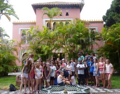 Voyage scolaire éducatif, Espagne
