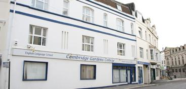 Cambridge Gardens College, école de langue à Hastings reprise en 2006 par le CEI