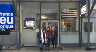 Radio - France Bleu Armorique - Interview CEI - Accueil famille