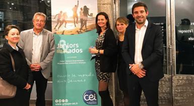 Ouverture de l'agence CEI à Lyon