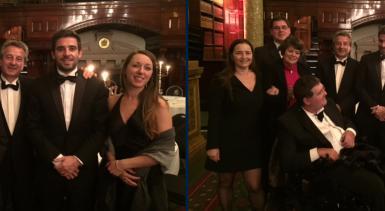CEI Londres au dîner de gala sur l'accessibilité